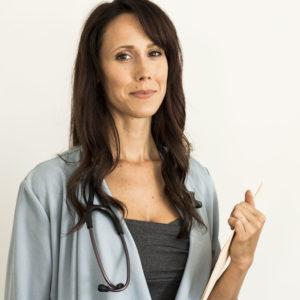 Doctor Alyssa Hart, the main character of I Hear You