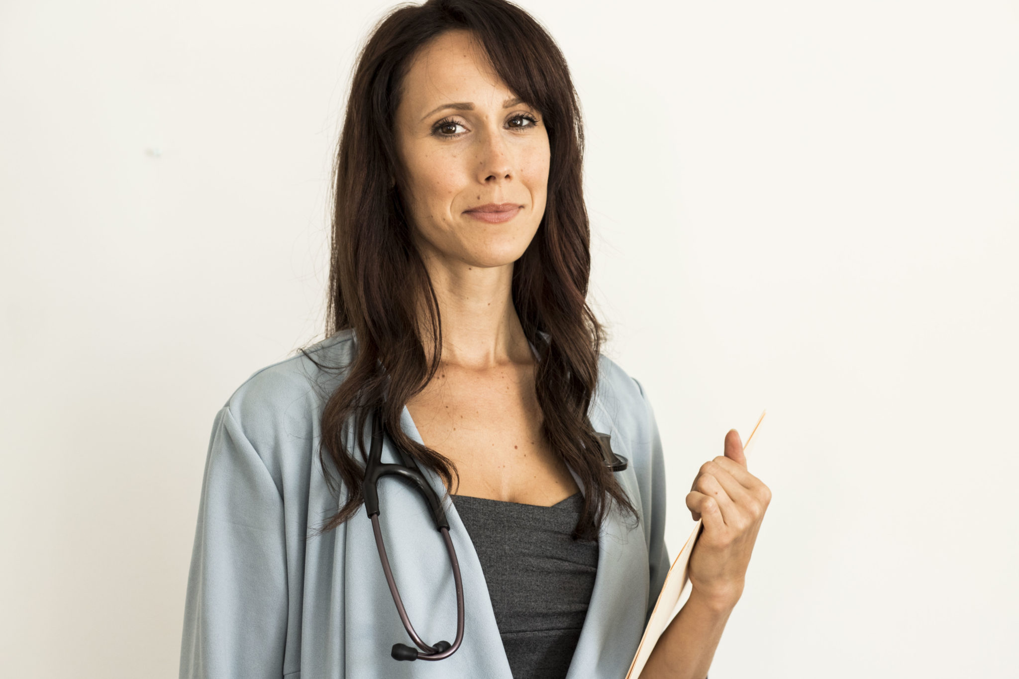 Doctor Alyssa Hart, the main character of I Hear You